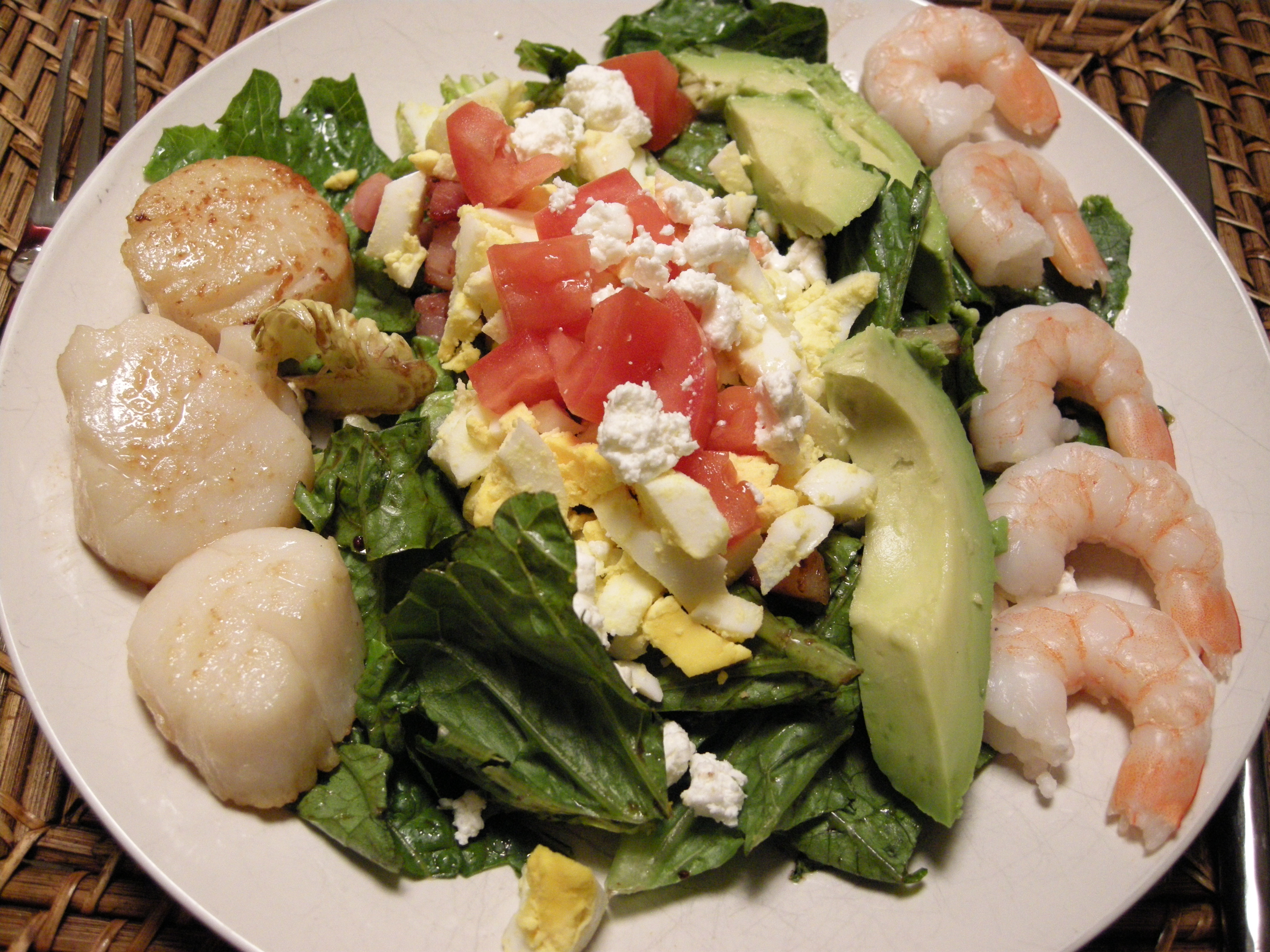 Shrimp and Crab Cobb Salad with Spicy Remoulade ...